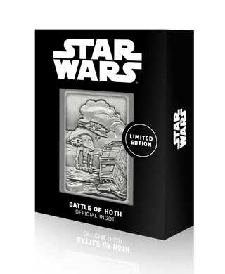 Hoth Planet Scene: Star Wars Limited Edition Ingot Collectible