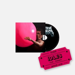 Idles - Ultra Mono - CD & Hull Adelphi e-Ticket