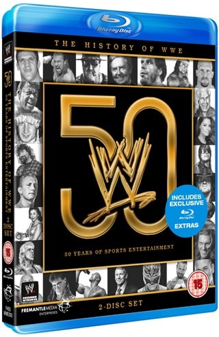 WWE: The History of WWE - 50 Years of Sports Entertainment