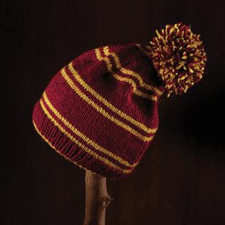 Harry Potter: Gryffindor Bobble Hat Kit: Knit Kit: Hero Collector
