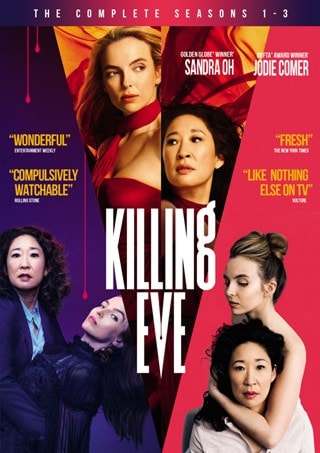Killing Eve: Season 1-3