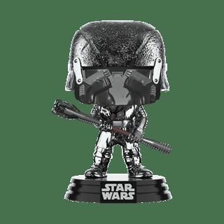 Chrome Knight of Ren: War Club (332) Rise of Skywalker: Star Wars Pop Vinyl