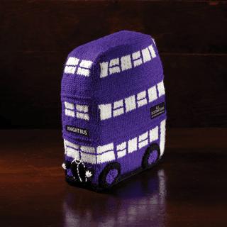 Harry Potter: Knight Bus Doorstop: Knit Kit: Hero Collector