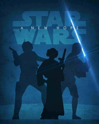 Star Wars: A New Hope Jason Christman Limited Edition Lithograph Print