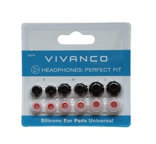 Vivanco Universal Silicone Replacement Earbuds