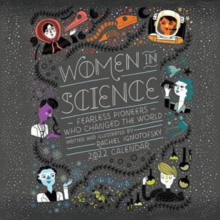 Women in Science Square 2022 Calendar