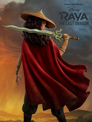 Before The Storm: Raya and the Last Dragon Canvas Print