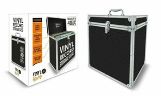 Vinyl Buddy Black LP Storage Case