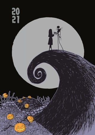 The Nightmare Before Christmas 2021 Diary