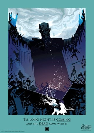 Game of Thrones: Night King Limited Edition Art Print