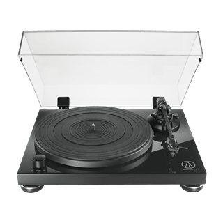 Audio Technica AT-LPW50 Wood Base Piano Black Turntable