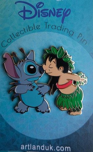 Lilo And Stitch: Nosie Limited Edition Artland Pin