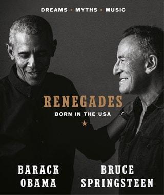 Bruce Springsteen & Barack Obama: Renegades: Born In The USA (Hardback)