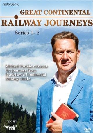 Great Continental Railway Journeys: Series 1-5