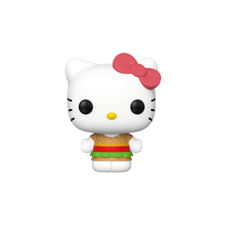 Kawaii Burger Shop (29) Hello Kitty Pop Vinyl