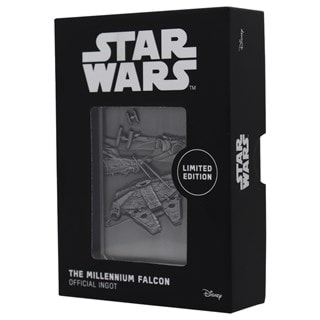 Millenium Falcon Ingot: Star Wars Collectible
