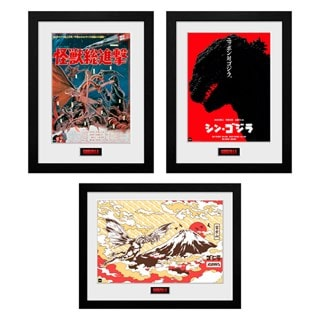 Godzilla Print Bundle: Destroy, Shin & Flight
