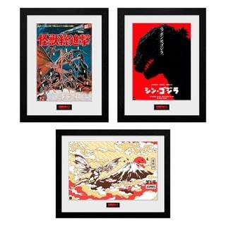 Godzilla Print Bundle: Destroy, Shin & Flight