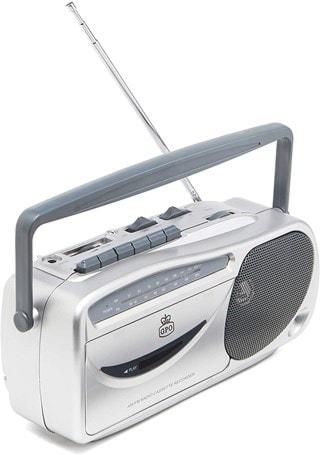 GPO Retro Cassette Player w/ AM/FM Radio
