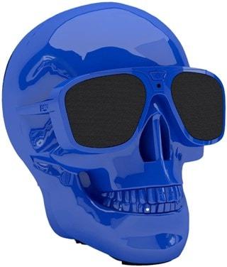 Jarre AeroSkull XS+ Glossy Blue Bluetooth Speaker