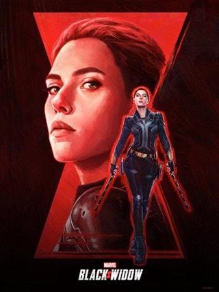 Black Widow Kayla Woodside Marvel Art Print