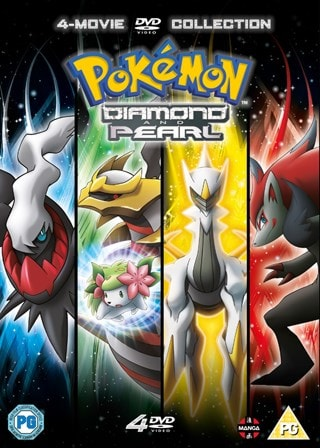 Pokemon: Diamond and Pearl - The Movie Collection 10-13