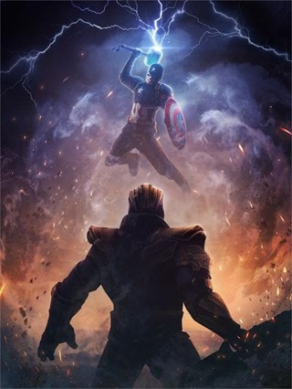 Worthy Captain America: Phaserunner Limited Edition Canvas Print
