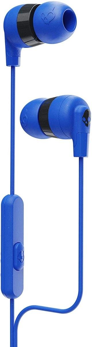 Skullcandy Inkd+ Cobalt Blue Earphones W/Mic
