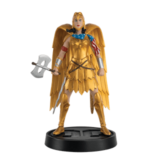 Wonder Woman Gold Armour Figurine: DC Hero Collector
