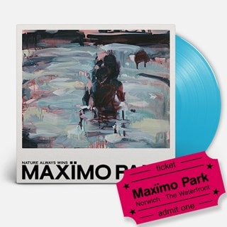 Maximo Park - Nature Always Wins - LP & Norwich Waterfront Event Entry