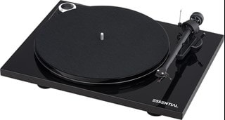 Pro-Ject Essential III Phono Black Turntable