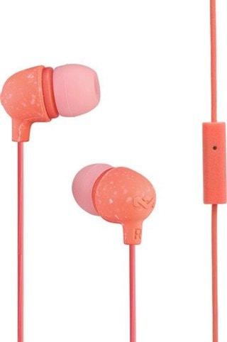 House Of Marley Little Bird Peach Earphones W/Mic
