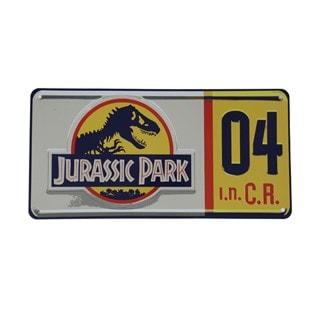 Replica Number Plate: Jurassic Park Wall Art