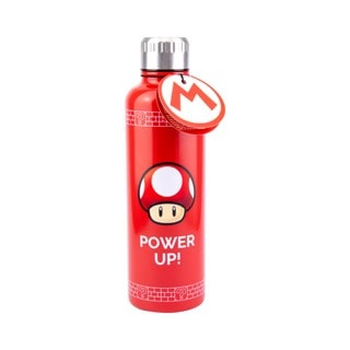 Nintendo: Super Mario Power Up Metal Water Bottle