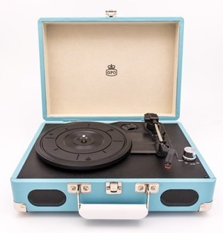 GPO Soho Turquoise Turntable (hmv Exclusive)