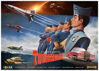 Thunderbirds: Henrik Sahlstrom Art Print