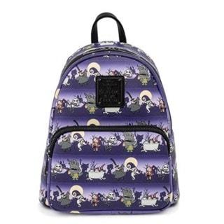 Nightmare Before Christmas: Halloween Mini Loungefly Backpack