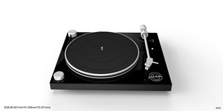 NSA Black Phono Turntable