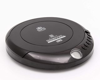 GPO Retro Black Portable CD Player