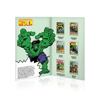 Incredible Hulk: Gold Plated Marvel Ingot Collectible