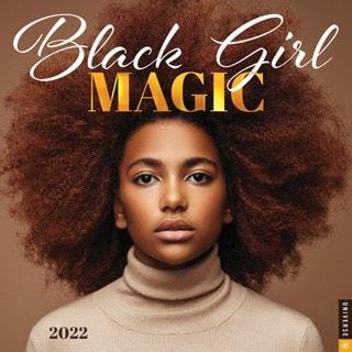 Black Girl Magic Square 2022 Calendar