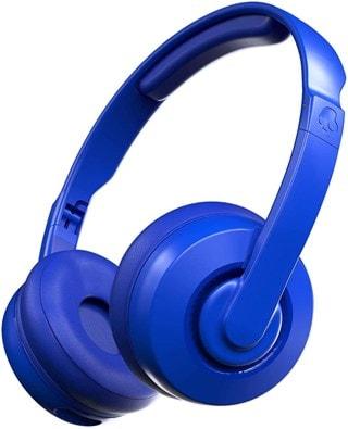 Skullcandy Cassette Cobalt Blue Bluetooth Headphones