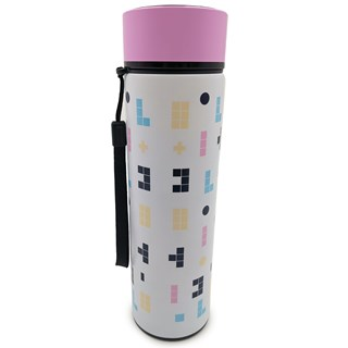 Pusheen Cat Gaming Reusable Stainless Steel Thermal Insulated Bottle