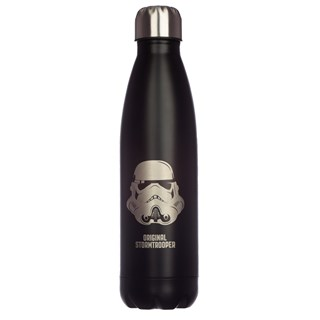 Original Stormtrooper Reusable Stainless Steel Thermal Insulated Black Bottle