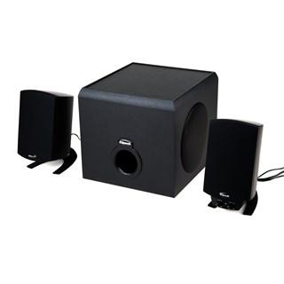 Klipsch Pro Media 2.1 BT Black Bluetooth Bookshelf Speakers With Subwoofer