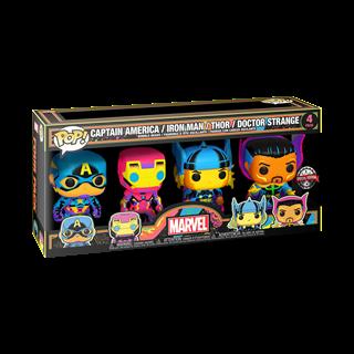 Blacklight: Marvel 4 Pack: (hmv Exclusive) Pop Vinyl