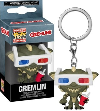 Gremlin With 3D Glasses: Gremlins Pop Vinyl: Keychain