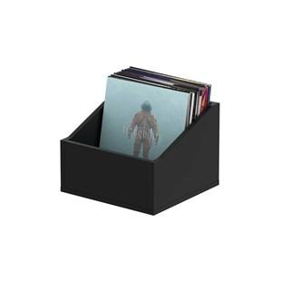 Glorious Record Box Advanced 110 Black Vinyl Storage