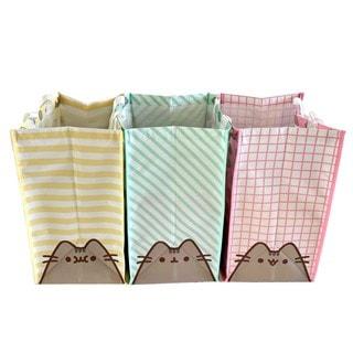 Pusheen The Cat Pet (Set Of 3) Recycling Bags