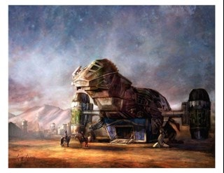 Firefly: Rendevous Cliff Cramp Limited Edition Giclee Print